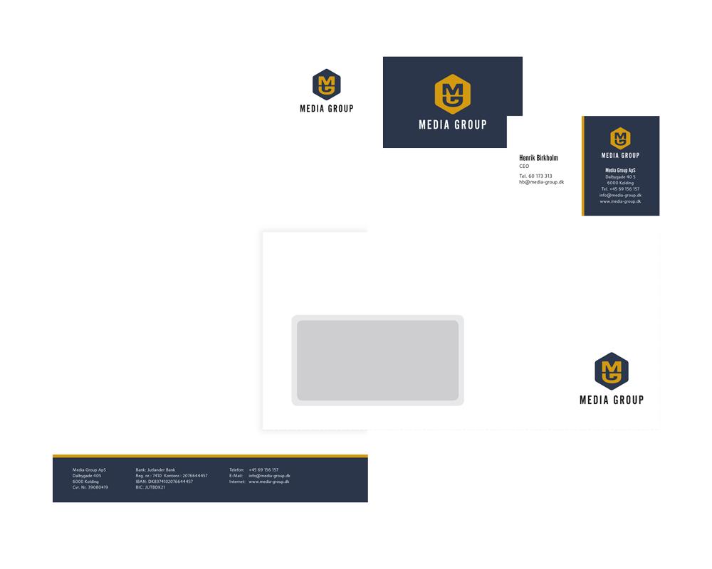 grafisk profil brevlinje