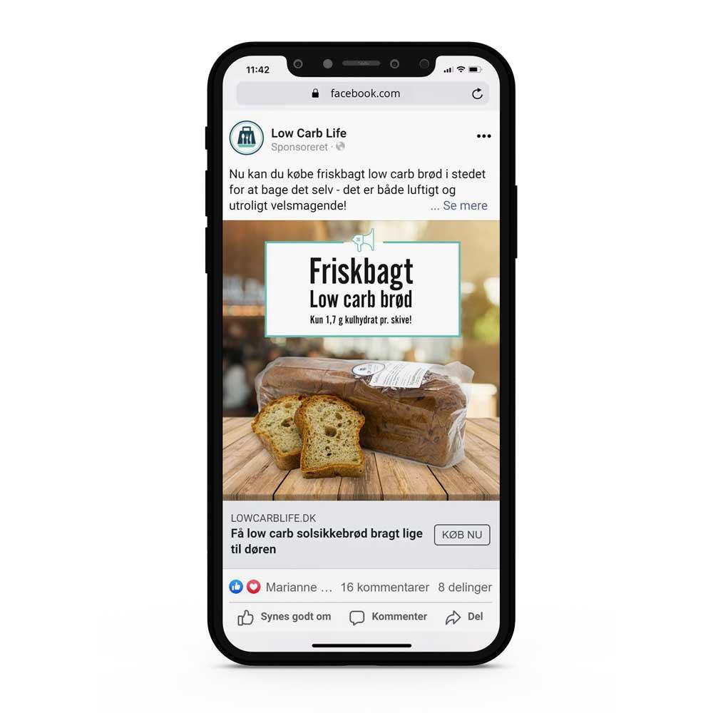 online markedsføring facebookannoncering