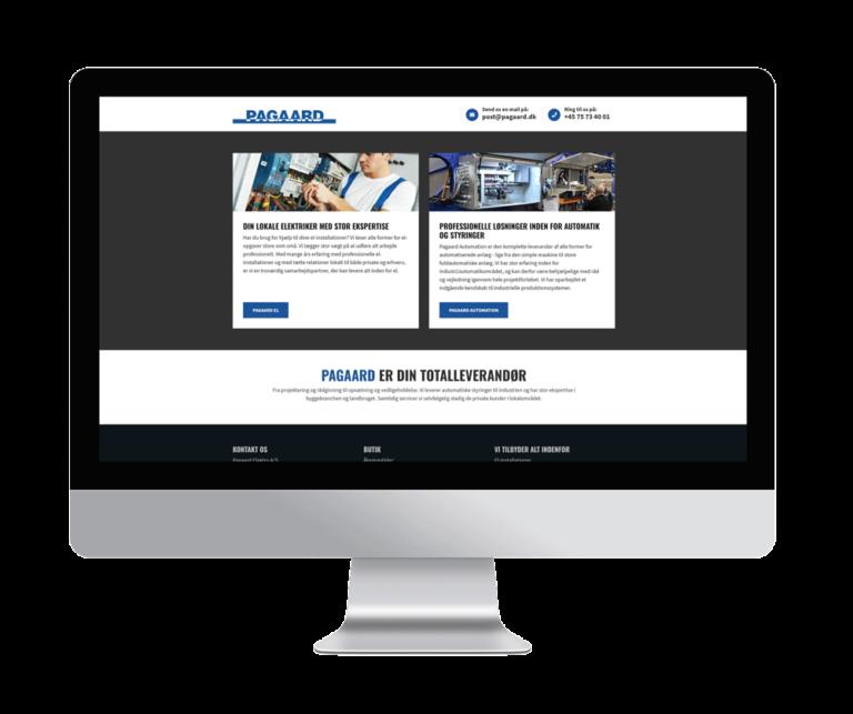 webdesign indgangsportal